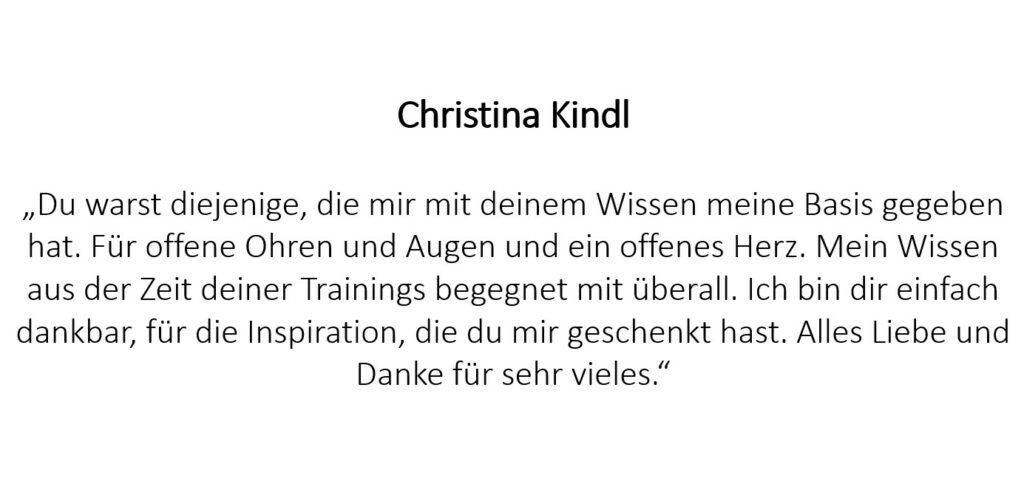 Christina Kindl