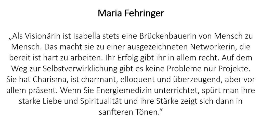 Maria Fehringer
